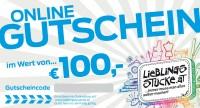 100 EUR Online Gutschein