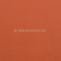 Ripp-Bündchen dunkles orange, *Aktion*