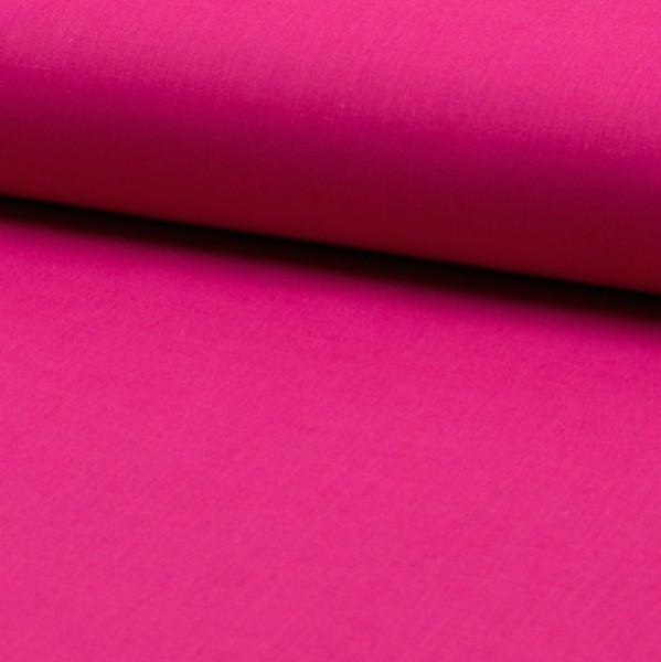 Baumwollstoff fein, dunkles pink