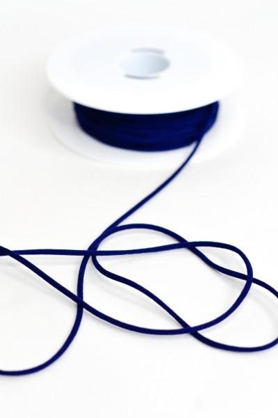 Trägergummi, dunkelblau