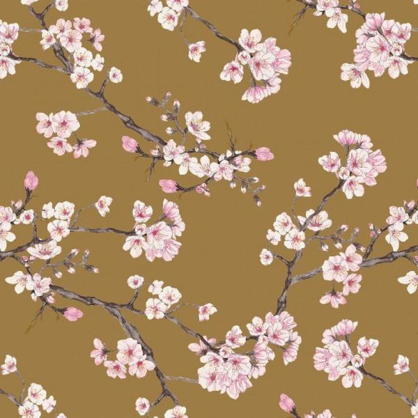 Modal-Jersey, Blossom senf