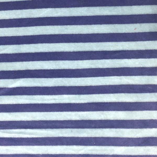 Nicky Streifen breit, hellblau/blau