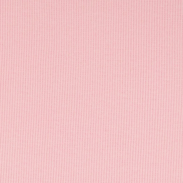 Ripp-Bündchen hellrosa