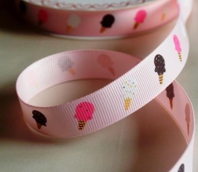Eis, rosa, Ripsband *SALE*