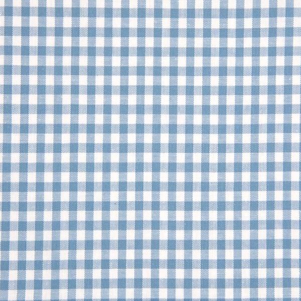 Vichykaro, mittel, jeansblau-weiß kariert