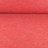 Filz 3 mm dick rot-meliert