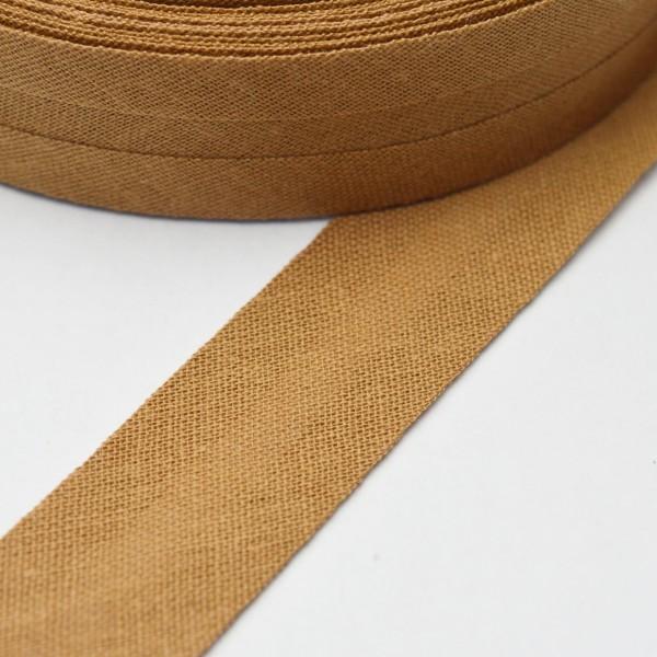Schrägband, 20 mm, mittelbraun