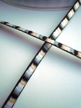 Band, ditto schwarz, 3 mm
