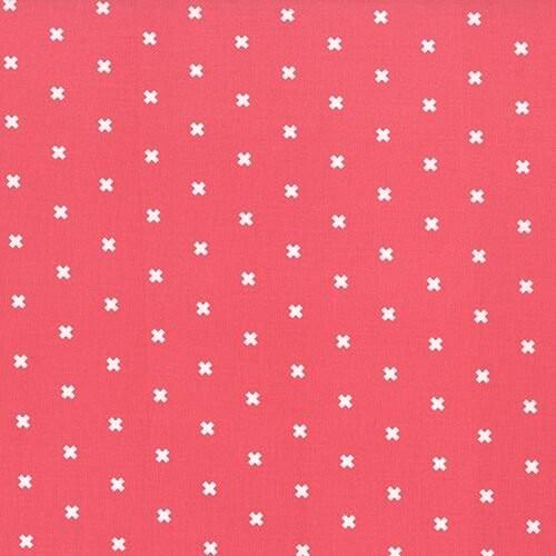 Cotton+Steel, XOXO pink, Baumwollstoff