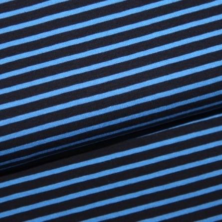 Campanino türkisblau auf dunkelblau, Jersey