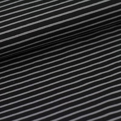 Campanino grau-meliert auf schwarz, Jersey