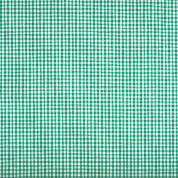 Vichykaro, klein, grün-weiß kariert