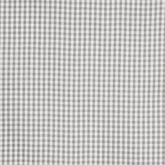 Vichykaro, klein, mittelgrau-weiß kariert, waschbar bei 60°