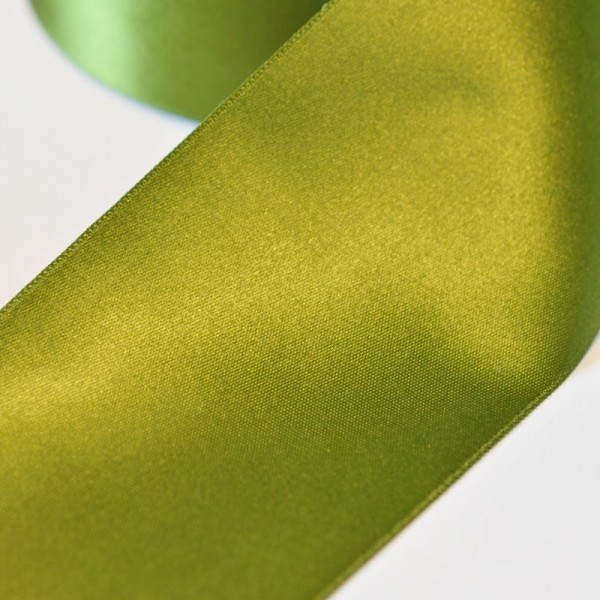 Satinband, waldgrün, 66 mm