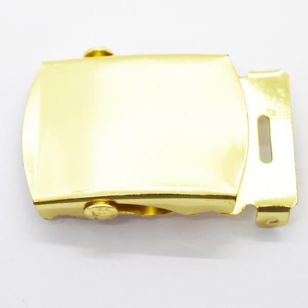 Gürtelschnalle, 3 cm, gold