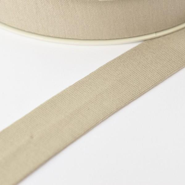 Viskosejersey-Schrägband, sand