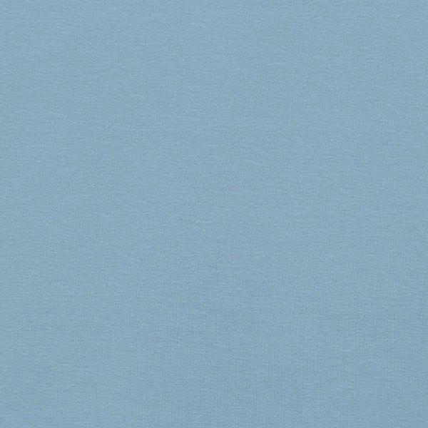 Glattes Bündchen wasserblau