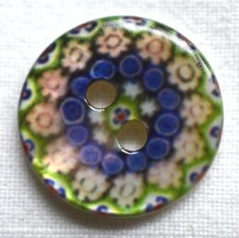 Blumenornament, Knopf