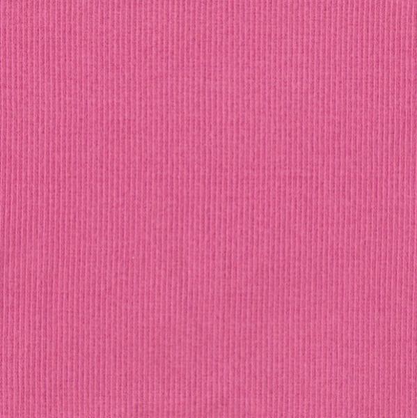 Ripp-Bündchen pink