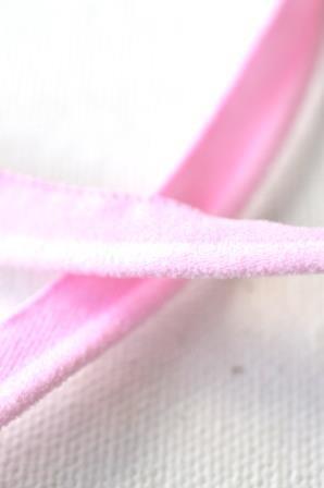 elastische Paspel, rosa