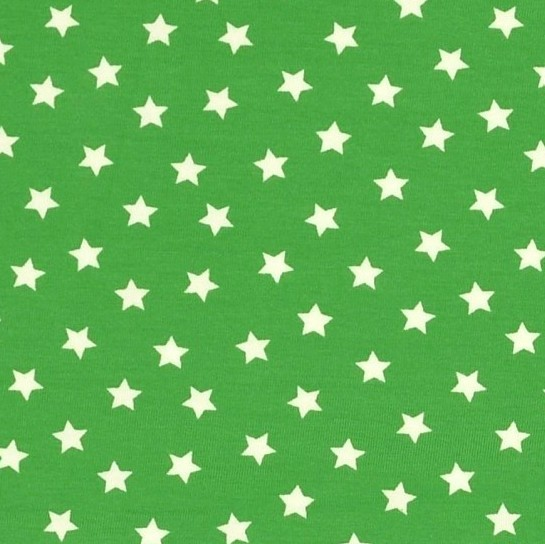 Tom, kleine Sterne grün, Jersey