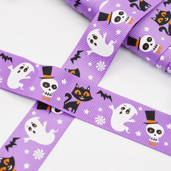 Ripsband, Halloween Party, violett