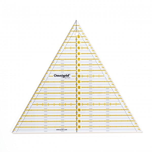 Patchwork-Lineal 60° Dreieck Multi 20 cm