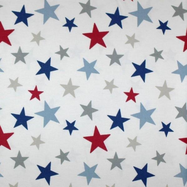 Dekostoff Funky Stars blue
