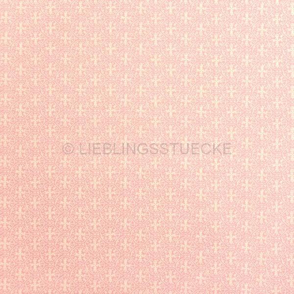 Pauli, Ornament rosa, Bio-Popeline