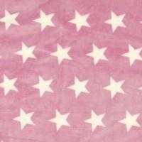 Florian Microfleece Sterne rosa