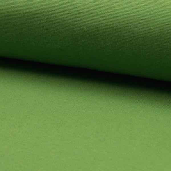 Glattes Bündchen waldgrün