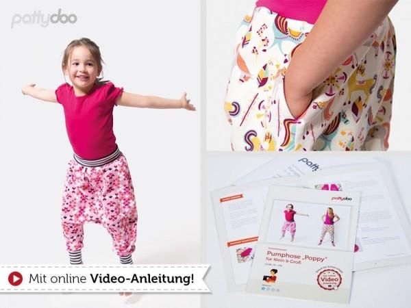 Poppy, Kinder-Pumphose, pattydoo-Schnittmuster