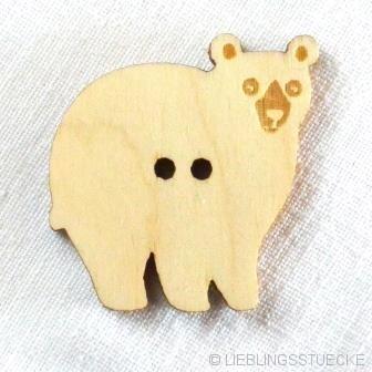 PaaPii Bär, Holzknopf