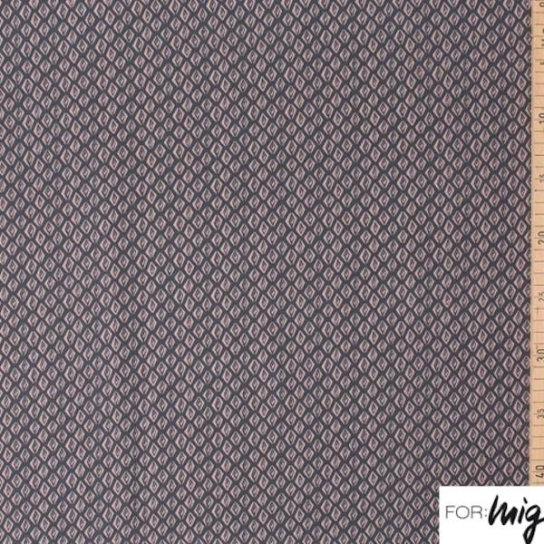 lillestoff, Tigerauge braun auf grau, Modal-Jersey