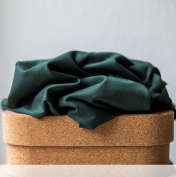 Meet Milk, TENCEL™ Stretchjersey, deep green/dunkelgrün