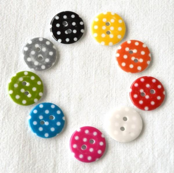 Shabby dots, Knopf