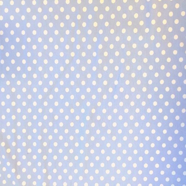 Emil Punkte, weiß auf hellblau, Jersey