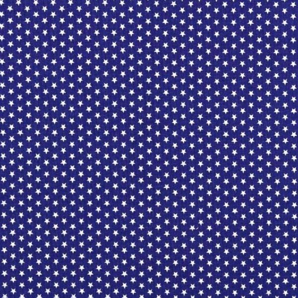 Lili Mini Stars, dunkles royalblau, waschbar bei 60°