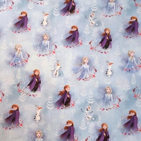 Frozen/Die Eiskönigin Figuren, Baumwoll-Popeline