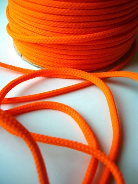 Schnur, 4 mm, leuchtendes orange