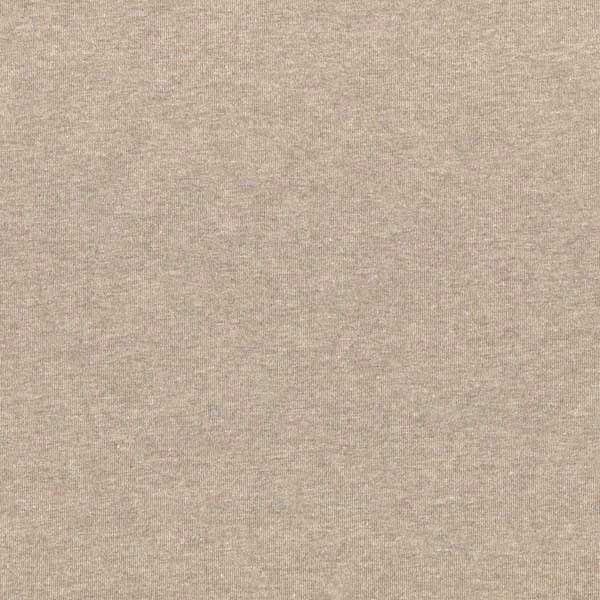 Glattes Bündchen hellbraun-meliert