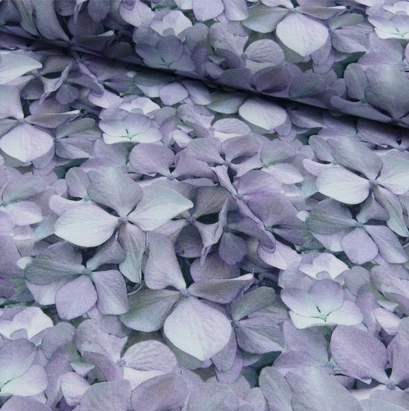 Hortensien lila/grau, Sweat