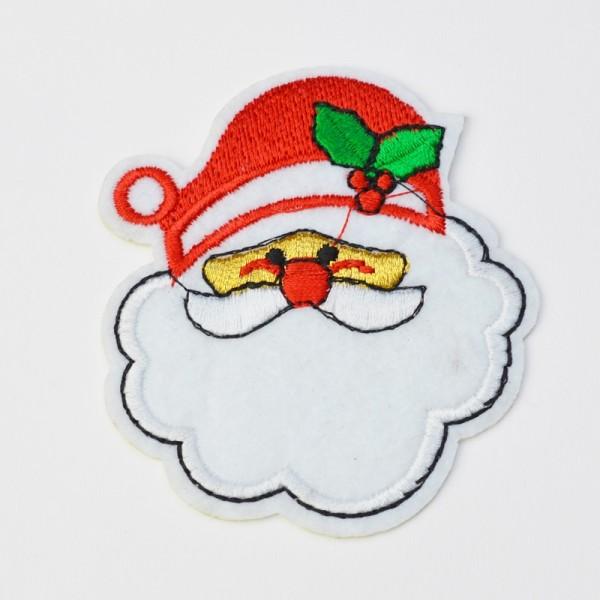 Applikation Weihnachtsmann