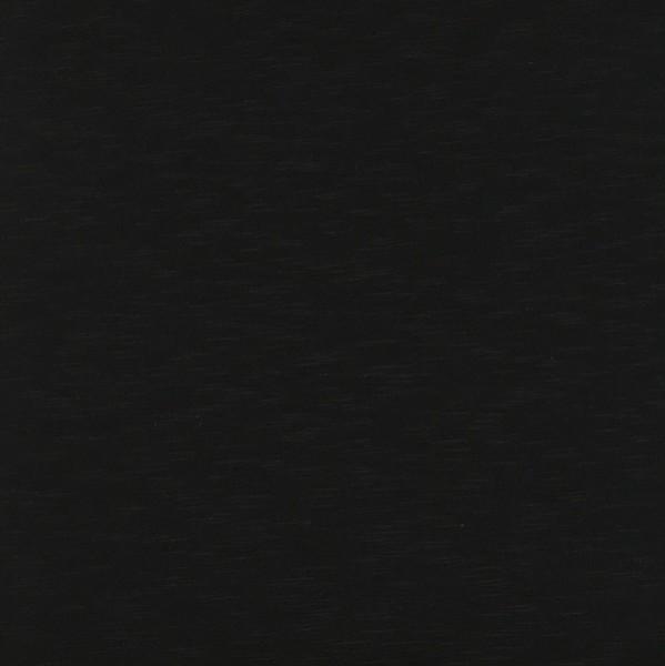 Slub-Jersey schwarz
