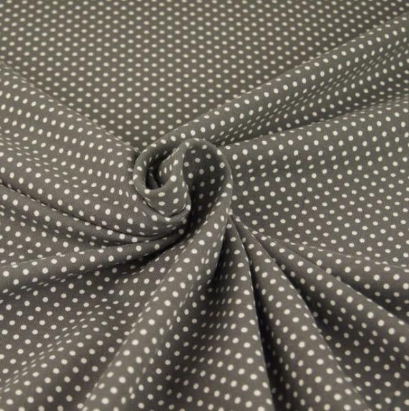 Jerry Minipunkte, weiß auf grau, Jersey