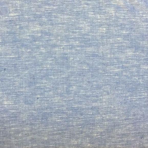 Chiara, Leinen hellblau-meliert