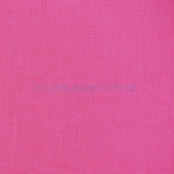 Festes Leinen pink