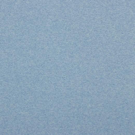 Ripp-Bündchen hellblau-meliert