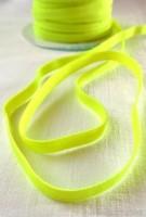 Einziehgummi, neongelb, 8 mm