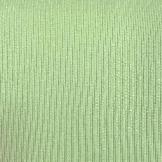 Ripp-Bündchen lindgrün